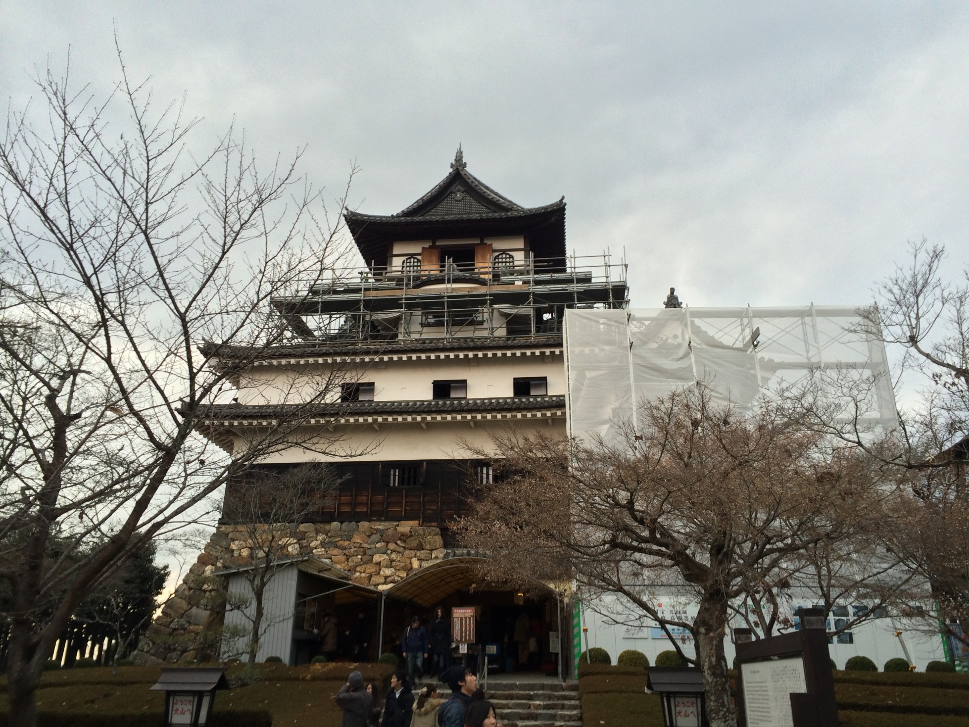 Gifu Castle, the oldest Castle in Japan