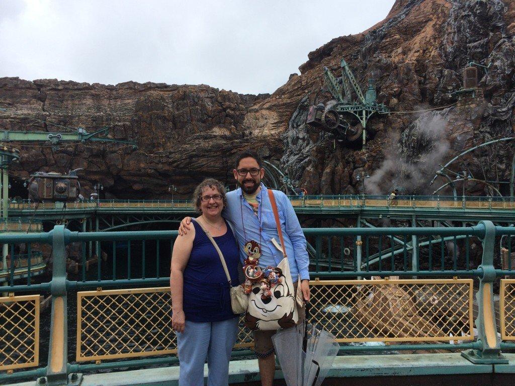Mom and I at Tokyo DisneySea