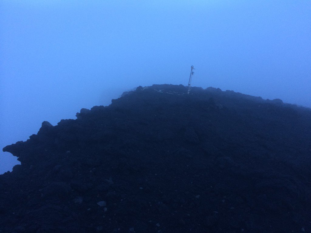 Summit of Mt. Fuji