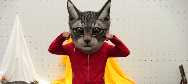 Only in Japan Can You Wear a Gigantic Cat Head