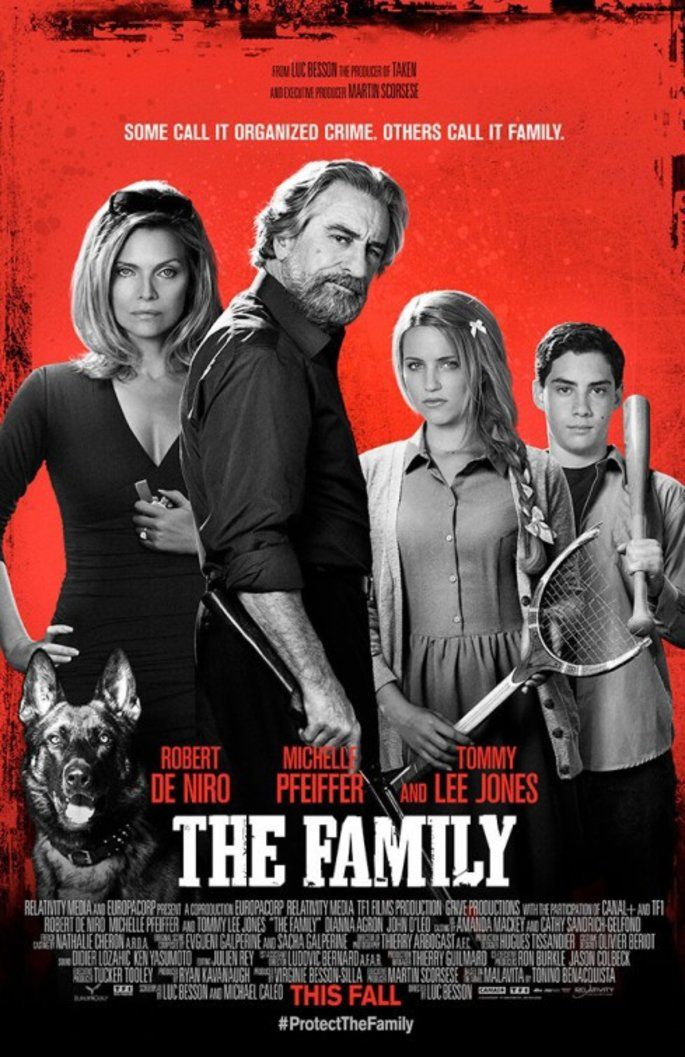 The Family 2013 Movie Poster