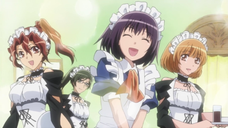 Greeted By Maids