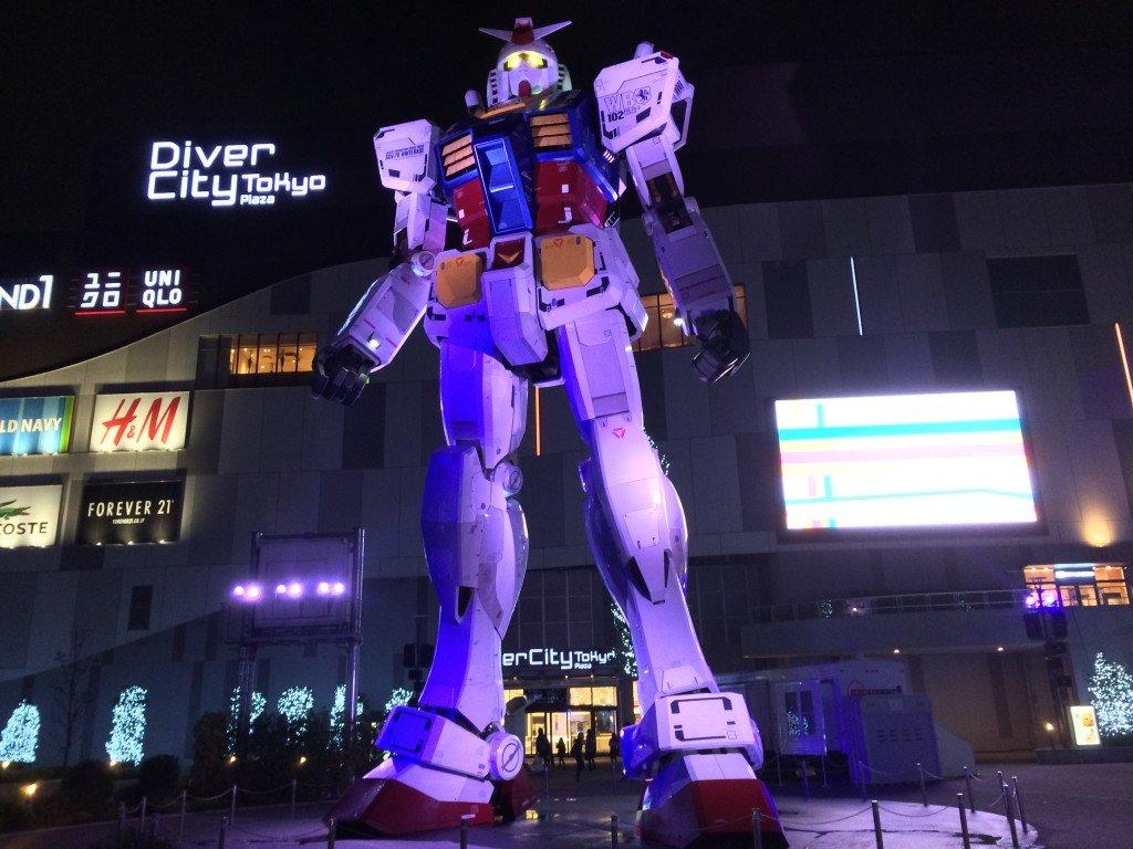 Odaiba Gundam at DiverCity
